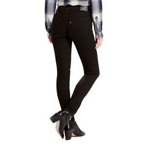 Levi's Slimming Skinny Jean Light Black